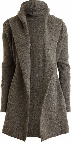 Vince Gray Sweater Coat