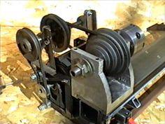 Home-built Gingery Lathe - Drive Train
