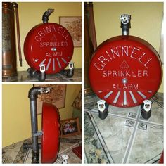 Sprinkler Alarm Bell Cover With Lights By Sossalvage On