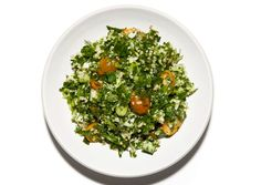 Tabbouleh with Fennel and Tomatoes (To make gluten free, sub bulgur for quinoa or any other GF grain of your choice)