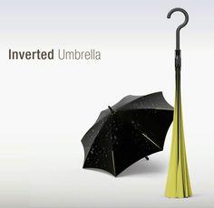 un paraguas al revés... o poniendo al revés el paragua