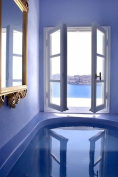 Santorini Blues: Hotel Kirini Suites & Spa, Oia, Griechenland | Greece. Santorini