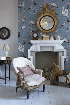 Gorgeous House of Hackney Flights of Fancy wallpaper design.
