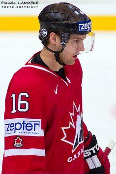 Travis Zajac represented Canada in the World Championships in University Of North Dakota, I Am Canadian, O Canada, New Jersey Devils, Business Centre, World Championship, Nhl, Olympics, Hockey