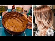 Powerful Cinnamon Base Tint To Dye Hair Without Being Battered And Shortly Lighten Hair At Home, Lighten Hair Naturally, Best Hair Dye, Home Remedies For Hair, Work Hairstyles, Natural Cosmetics, Ombre Hair, Hair Hacks, Healthy Skin