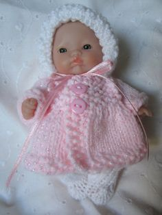 Knit Doll Clothing Viking Outfit for Itty Bitty Chubby by WeGirls