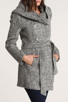 Hooded Vertigo Rica Coat
