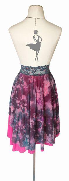 c461ed012b48e Two layer Argentine tango circle skirt by Atelier Vertex Tango Dress