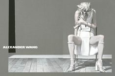 Malgosia Bela Stars in Alexander Wang's Spring 2013 Campaign by Steven Klein | Fashion Gone Rogue: The Latest in Editorials and Campaigns