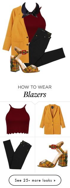 """emma"" by mamabear558 on Polyvore featuring Boohoo, Yves Saint Laurent, Monki, Gemma Lister and Charlotte Olympia"