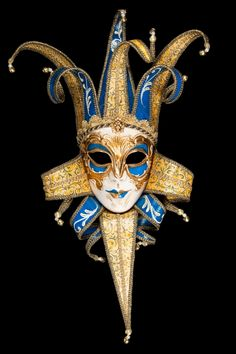 Norman Jolly   Venetian Mask With Paper Mache For Sale