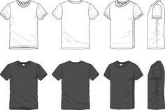 men V t-shirt technical drawing - Google zoeken