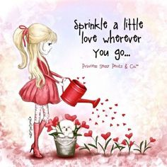 ♥ Sprinkle a Little Love today  ♥ (36 pieces)
