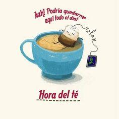 Una taza en la mano puede ser sinónimo de relajación #buenosdías #relax #teaparty #soloinfusiones