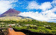 Montanha do Pico - Ilha do Pico, Açores (Portugal).  Montanha do Pico - Portugal