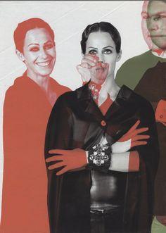 Amanda Harlech by Karl Lagerfeld