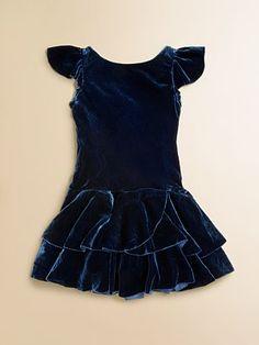 Ralph Lauren Toddler's & Little Girl's Velvet Dress