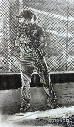 Si Defense Pertra Rifle Drawing