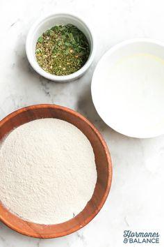 Herbed Quinoa Crackers Recipe
