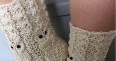 Pöllösukat           Lanka: 7-veljestä tms.   Puikot nro. 3     Luo 50 silmukkaa (alkuun tuleva valepalmikko on 5 jaollinen)     1 krs. *3... Leg Warmers, Knitting, Fashion, Leg Warmers Outfit, Moda, Tricot, Fashion Styles, Breien, Stricken