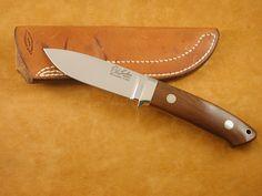Bob Loveless Classic Dropped Hunter, wood handle