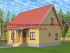Дом 8х10 с отличной планировкой