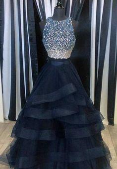 Ball Gown Prom Dress, Sexy prom Dress,Beading Prom Dress,Long Prom Dresses,Tulle Prom Dresses,Formal Evening Dress, 2018 Prom Gowns, Formal Women Dress,prom dress