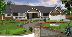 Augusta 2524 sq. ft. 1 story house