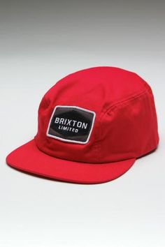5f760b5fd3504d Brixton Mill Red Cap - Great for a casual walking day Jack Threads, Love Hat