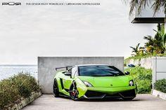 PUR Verde Ithaca Green Lamborghini Gallardo Superleggera