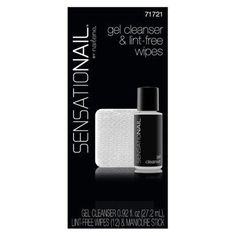 SensatioNail Gel Cleanser  Wipes Refill Kit 21 Ounce *** Read more reviews of the product by visiting the link on the image.Note:It is affiliate link to Amazon. #PreetyNails
