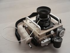 - DIY / wideangle p&s camera - completed Evolution Of The Camera, Close Camera, How To Make Camera, Light Meter, Types Of Cameras, Photography Gear, Camera Gear, Wide Angle, Leica