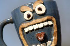 Hilarious Ceramic Pottery Coffee Mug
