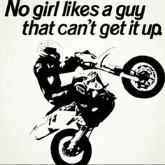 For the sweet love of MOTOCROSS! Our ultimate list of motocross quotes are dirty, funny, serious and always true. Check out our favorite motocross sayings Motocross Quotes, Dirt Bike Quotes, Biker Quotes, Motocross Funny, Motocross Girls, Racing Quotes, Sport Quotes, Motorcycle Riding Quotes, Motorcycle Outfit
