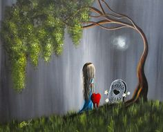 Don't Worry I Won't Let That Happen to You by Shawna Erback- Acryiic