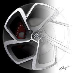sketch wheel C-Elysée Car Sketch, Car Wheels, Transportation Design, Concept Cars, Product Design, Sketching, Car Seats, Goal, Automobile
