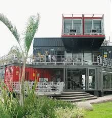 Image result for container cafe design