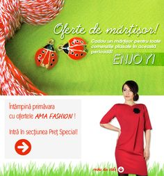 Oferte de Martisor de la Ama Fashion! on http://www.fashionlife.ro