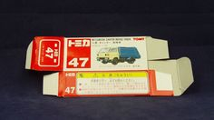 TOMICA 047D CANTER GARBAGE | 1/72 | ORIGINAL BOX ONLY | ST7 1997 CHINA
