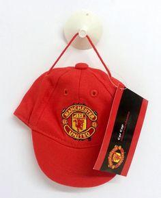 cc822d3d637 Manchester United Official - Car Window Accessory - MUFC Mini Car Cap Mascot