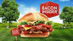 FREE Bacon Insider Burger At Jack In The Box With Purchase!