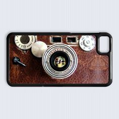 leather camera argus coated cintar blackberry Z10 case $16.89 #etsy #Accessories #Case #cover #CellPhone #BlackBerryZ10 #BlackBerryZ10case #BlackBerry #leather #camera #argus #coated #cintar