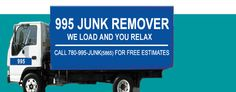 Canada Best Junk Removal Company Hire 995 JUNK Removal professionals who can remove the household wastage & make your residence junk free; can get the garbage and disposal bins on rent.  #junkremoval #Business