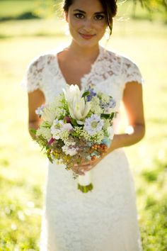 Love this bouquet! Photo by http://jessica-haley.com/