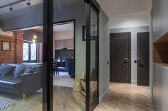Image result for internal doors glass sliding wooden front room Internal Doors, Glass Door, Glass Walls, Interior Design, Design Interiors, House Design, Architecture, Furniture, Home Decor