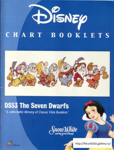 Snow White The Seven Dwarfs Cross Stitch Disney, Disney Cross Stitch Patterns, Cross Stitch Fairy, Cross Stitch For Kids, Cross Stitch Boards, Beaded Cross Stitch, Cross Stitch Designs, Magazine Cross, Walt Disney