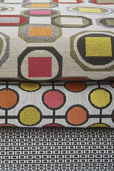Gold Standard Collection- Funky, Modern Design! Made by @Designtex, a @steelcase company. #fabric #colour #design #textiles #funky