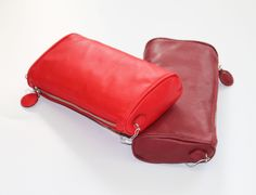 Leather Pochette! #madeinitaly #apexsrl