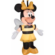 disney airblown inflatables minnie in bee costume online 2497