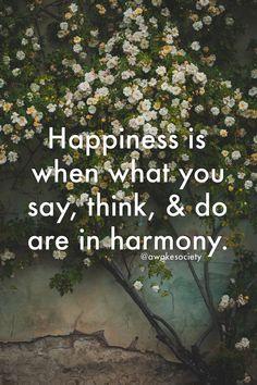 #quote #happinessquotes #happiness Happy Quotes, Happiness, Sayings, Happiness Quotes, Bonheur, Lyrics, Funny Qoutes, Being Happy, Happy